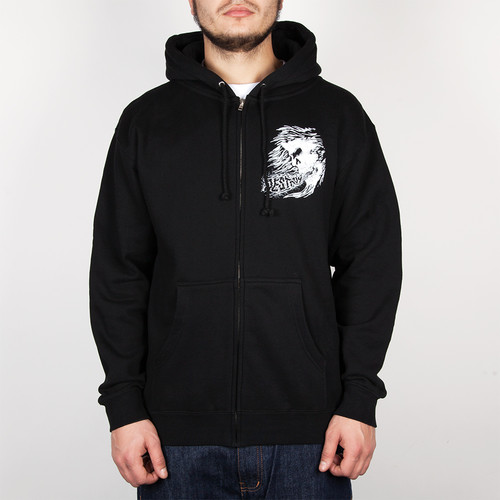 Толстовка MISHKA Osaka Simon Zip Up Hoodie (Black, L) цена