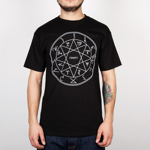 Футболка MISHKA Necromancer Tee (Black, L) футболка mishka davy jones locker white l