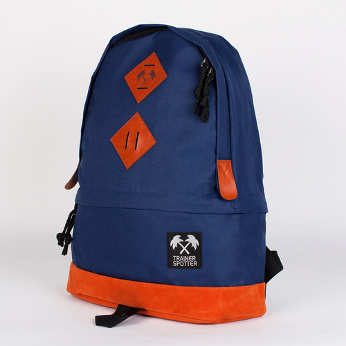 Рюкзак TRAINERSPOTTER 2 Tone Daypack (Navy/Orange-A) рюкзак reisenthel canvas daypack 37 43 13 см orange