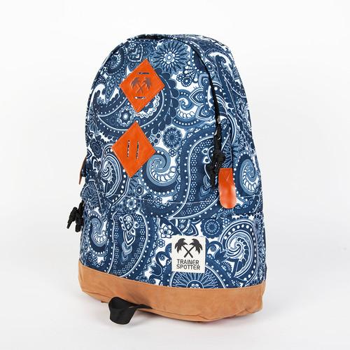 Рюкзак TRAINERSPOTTER Paisley Daypack (Navy-673) рюкзак truespin quilted daypack navy