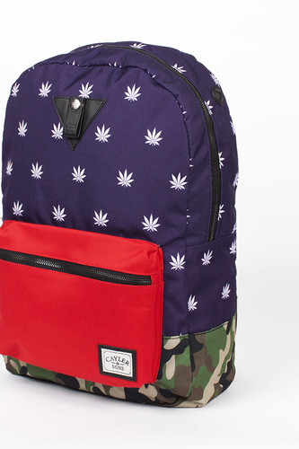 Рюкзак CAYLER & SONS Budz&Stripes Uptown Backpack (Navy/Red/Woodland) рюкзак cayler