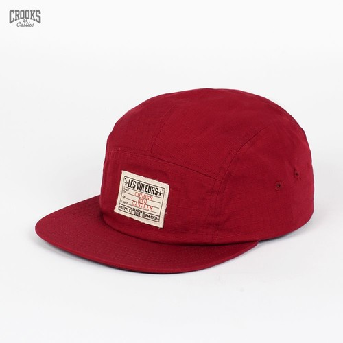 Бейсболка CROOKS & CASTLES I1360800 (Burgundy, O/S) бейсболка crooks