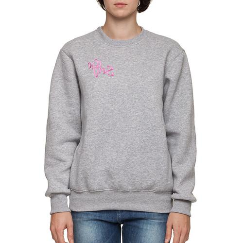 Толстовка WHITE CLOUD Selfie (Серый-Розовый-1041, XL)