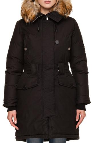 Куртка BIO CONNECTION 901 женская (Черный, XS) женская фуфайка guahoo everyday heavy 21 0461 s vk 901 xs