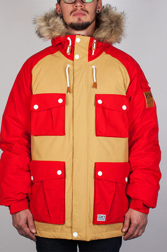 Куртка CLWR Roots Jacket (Red, S) недорого