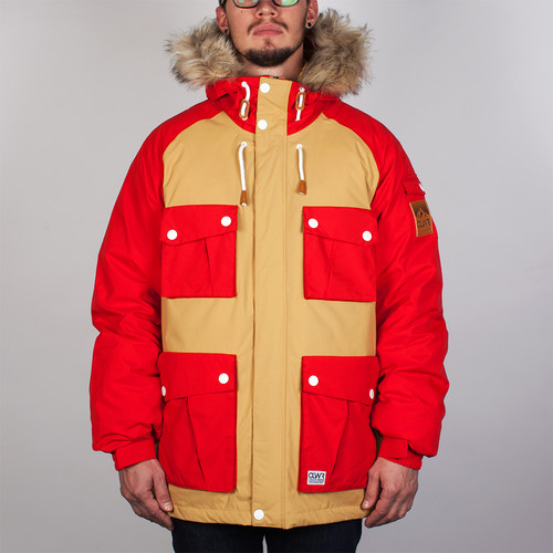 цена на Куртка CLWR Roots Jacket (Red, S)