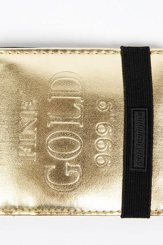 Кошелек SPRAYGROUND Fine Gold 999.9 Wallet (W001-Gold)