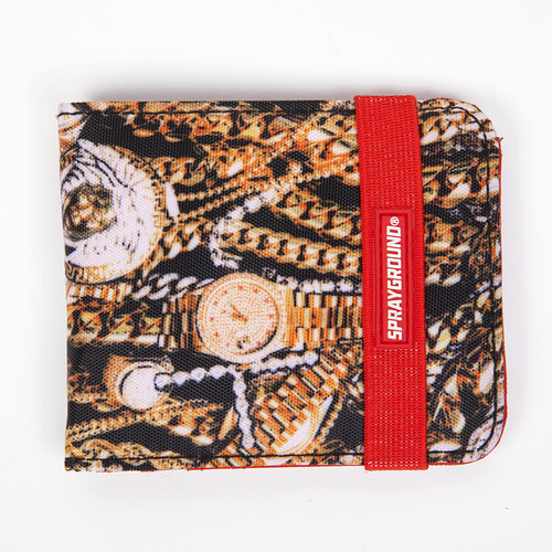 Кошелек SPRAYGROUND Treasure Jewels Wallet (W007-Multicolor)