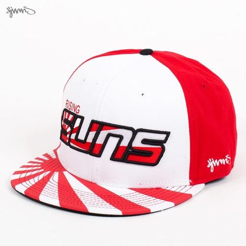 Бейсболка DJINNS 6P Snapback Suns (White-Red, O/S) все цены