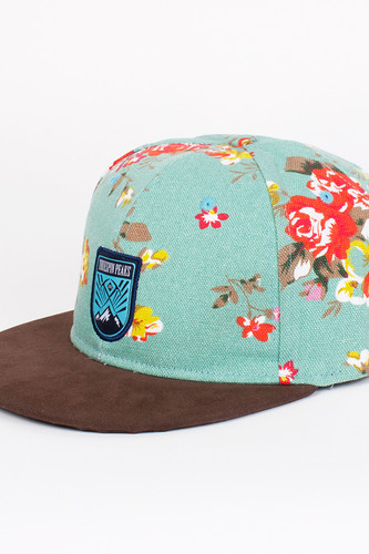Бейсболка TRUESPIN Peaks (Flower-Blue, O/S)