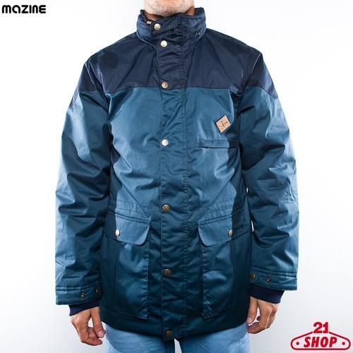 Куртка MAZINE Deep Rogerto (Night-Mid-Navy, L) толстовка mazine we are the crew sweater navy l