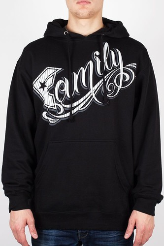 Толстовка FAMOUS Family Stripes (Black-White-Grey, XL)