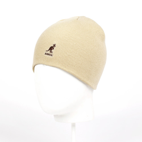 Шапка KANGOL Acrylic Cuffless Pull-On (Beige-BG265) шапка kangol арт k3119ht reefer cuff черный