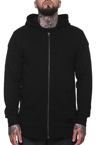 Толстовка CROOKS & CASTLES Prime Knit Zip Hood (Black, L) толстовка obey core zip hood tiger camo l