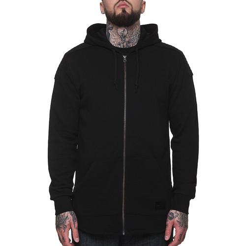 Толстовка CROOKS & CASTLES Prime Knit Zip Hood (Black, L) стоимость