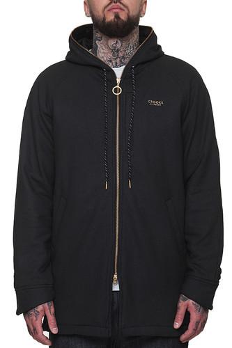 Куртка CROOKS & CASTLES Fortune Knit Parka (Black, M)