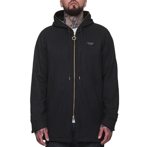 Куртка CROOKS & CASTLES Fortune Knit Parka (Black, M) куртка crooks