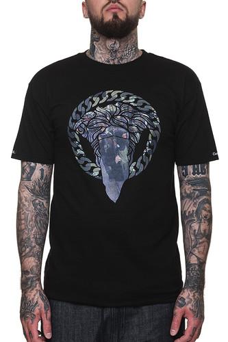 Футболка CROOKS & CASTLES Rebel Alliance Crew T-Shirt (Black, XL)