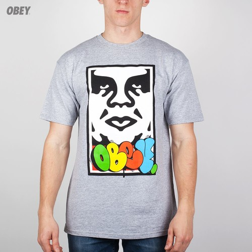 Футболка OBEY x COPE2 Takeover (Heather-Grey, S) elizabeth duke takeover engagement