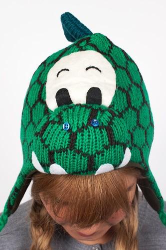Шапка KNITWITS Dinosaur (Green)