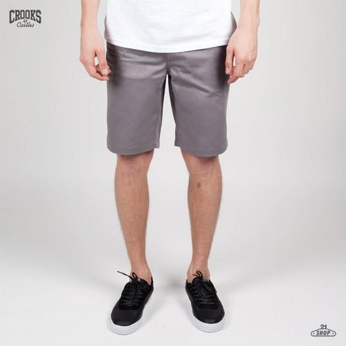 Шорты CROOKS & CASTLES I1320501 (Light-Grey, 34) шорты crooks