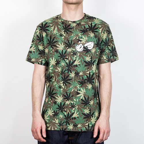 Футболка CAYLER & SONS Roll Tee (Hemp-Camo-Mc, S)