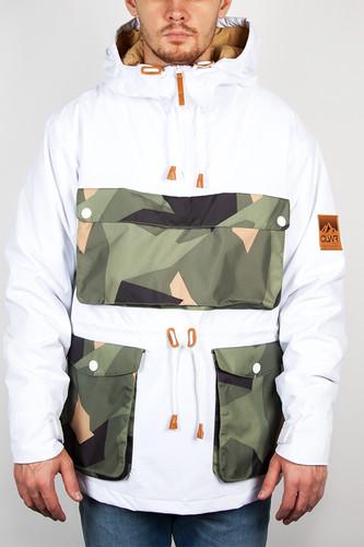 Куртка CLWR Anorak (White, M) недорого