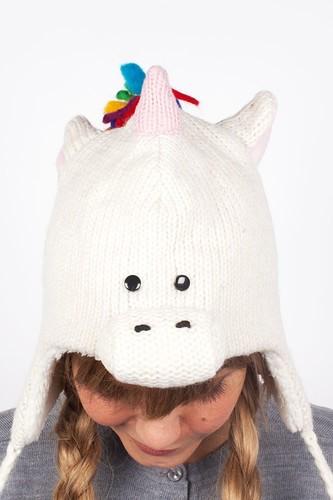 Шапка KNITWITS Unicorn (White)