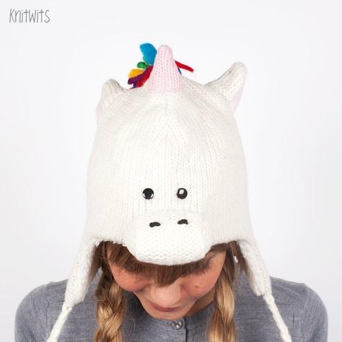Шапка KNITWITS Unicorn (White) шапка knitwits unicorn white