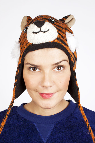 Шапка KNITWITS Tate The Tiger (Orange) шапка knitwits elmo red