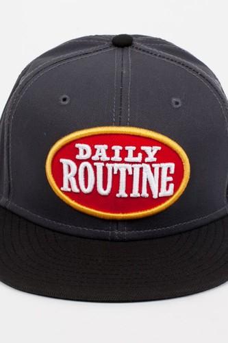 Бейсболка DJINNS 6P SB Daily Routine (Grey, O/S)