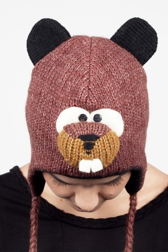 Шапка KNITWITS Barkley The Beaver (Brown)