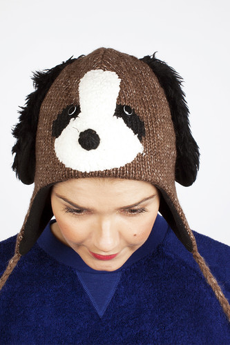 Шапка KNITWITS Doggy (Brown)