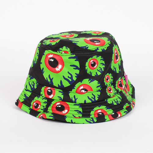 Панама MISHKA Keep Watch Bucket Hat (Green, S/M)