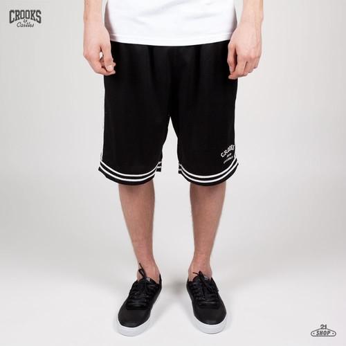 Шорты CROOKS & CASTLES Basketball I1320601 (Black, M) шорты crooks