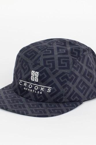 Бейсболка CROOKS & CASTLES I1360807 (Black, O/S)