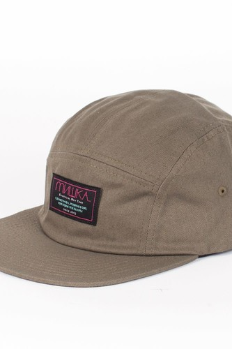 Бейсболка MISHKA Scout 5-Panel HO131717G (Army-Green, O/S) бейсболка mishka hard candy 5 panel red o s