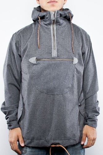 Анорак TURBOKOLOR Freitag Wool Jacket (Grey, L)