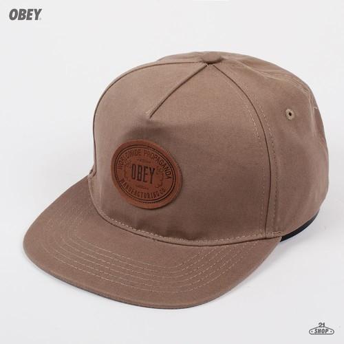 Бейсболка OBEY Mojave Hat (Military-Olive, O/S) бейсболка obey washington 5 panel olive o s