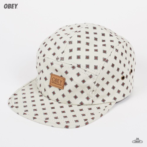 Бейсболка OBEY Stately 5 Panel (Golden-Haze, O/S) бейсболка obey ulster 5 panel light brown o s