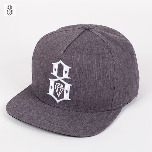 Бейсболка REBEL8 8 (Grey-White, O/S) цена