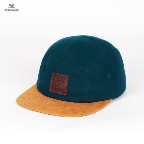цена на Бейсболка TURBOKOLOR 5Panel Caps Premium FW13 (Turquoise, O/S)