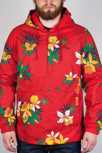 Куртка OBEY Pipeline Jacket (Red, M)