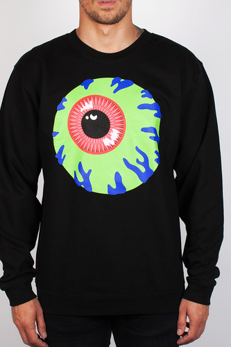 Толстовка MISHKA Keep Watch Crewneck (Black, XL) толстовка mishka kirby camo keep watch pullover hoodie black m
