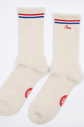Носки OBEY Ace Socks (Red-Cream, O/S)