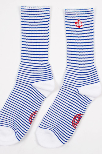 Носки OBEY Mast Socks (Royal-Blue-White, O/S)