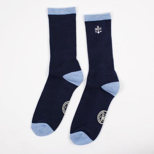 Носки OBEY Stern Socks (Navy, O/S)