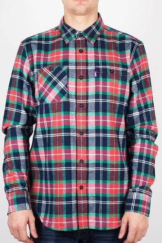 Рубашка MISHKA Ho131406B (Warm-Red, S) цена и фото