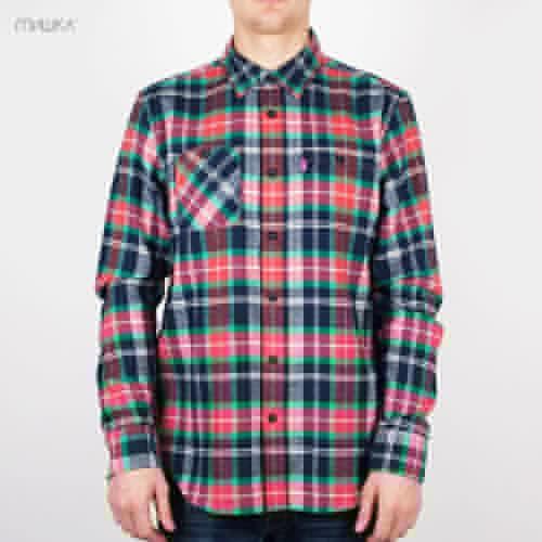 купить Рубашка MISHKA Ho131406B (Warm-Red, S) по цене 975 рублей