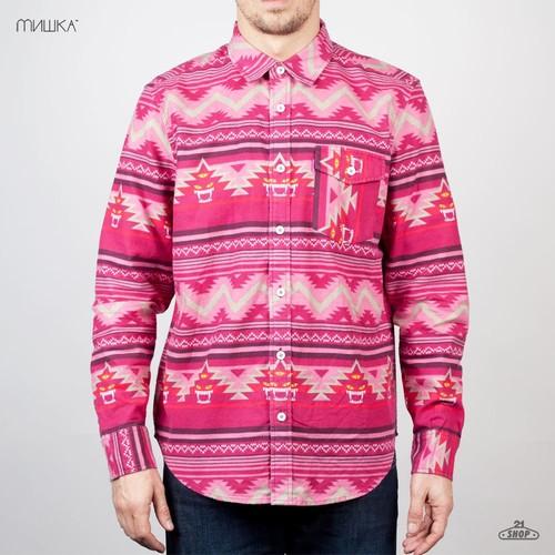 купить Рубашка MISHKA Vision Shirt Quest (Fire-Red, L) по цене 1139 рублей